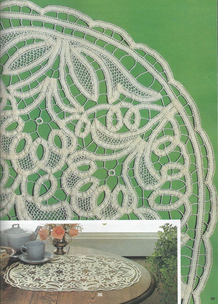 il Pizzo Rinascimento - Renaissance tape lace: Fiber Art Reflections