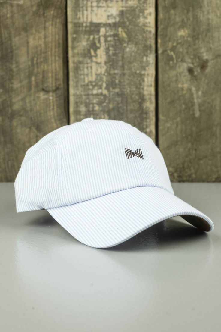 The Fraternity Collection Seersucker Hat