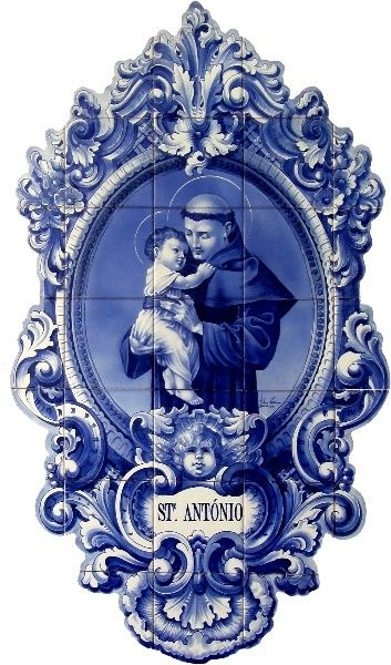 St. Anthony #portuguese #tiles #portugal 💥