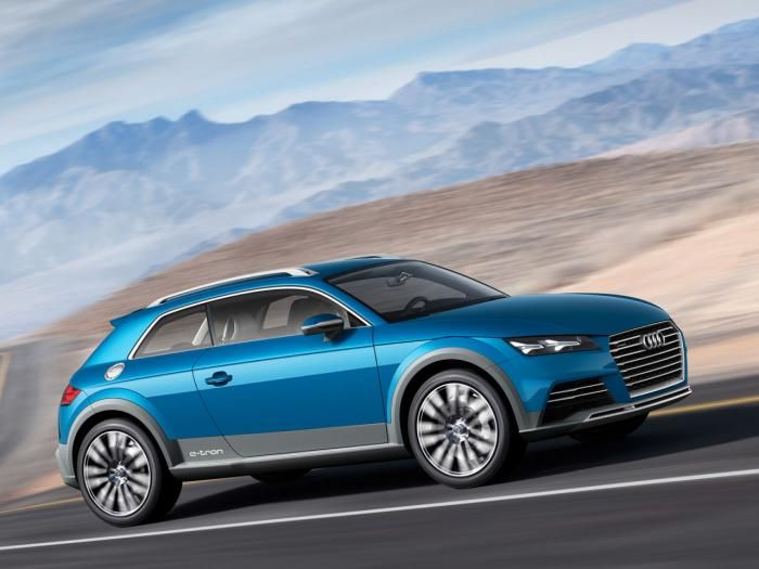 #Audi crossover coupe concept leaks out early, likely previews the 2015 TT #AudiHuntValley