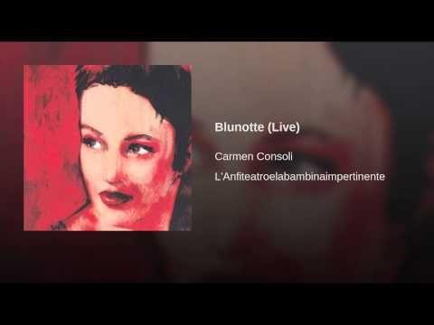 Blunotte Carmen Consoli
