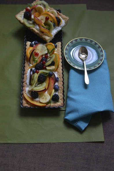 Tart with fresh fruit #tart #fruit #freshfruit #ilovesanmartino