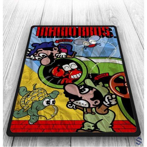 Super Mario Bross Custom Old Game Blanket