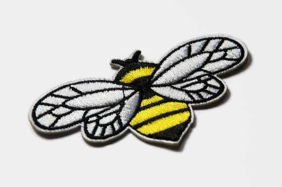 Worker Bee Patch - Manchester Symbol