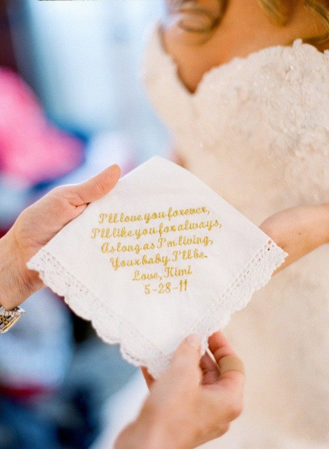 15 Ways to Make Mom Feel Special on Your Wedding Day via Brit + Co.