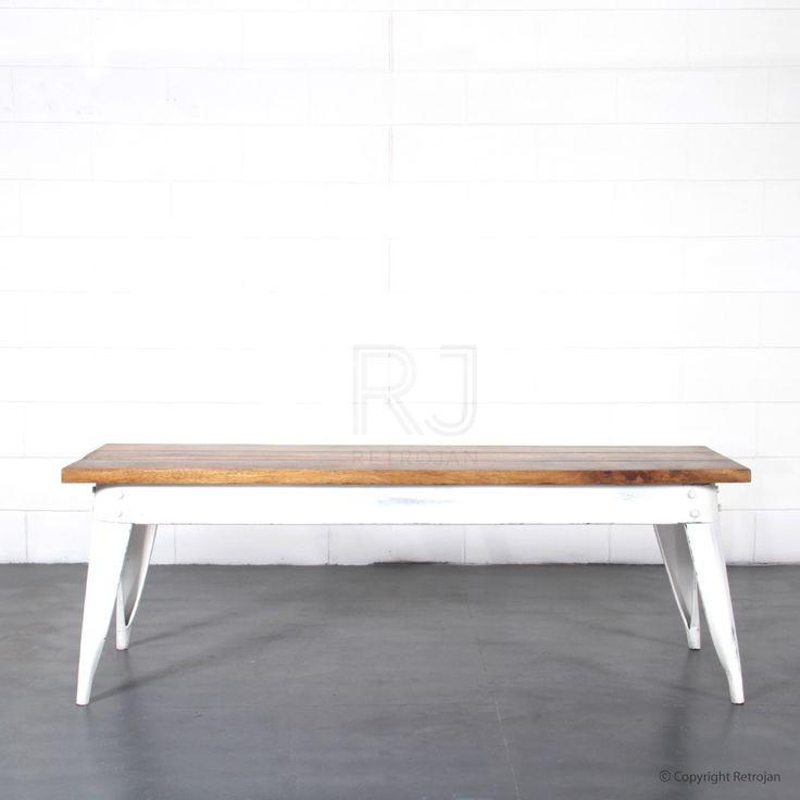 Masja Bench - White   $219.00