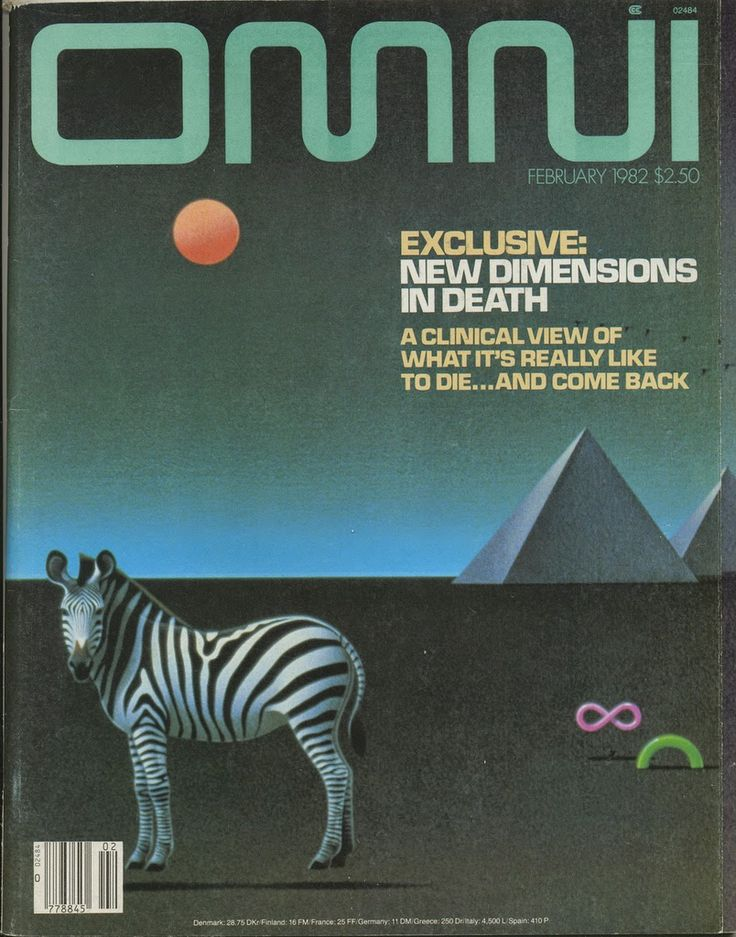 Omni was a science and science fiction magazine published in the US and the UK. It contained articles on science, parapsychology, and short works of science fiction and fantasy