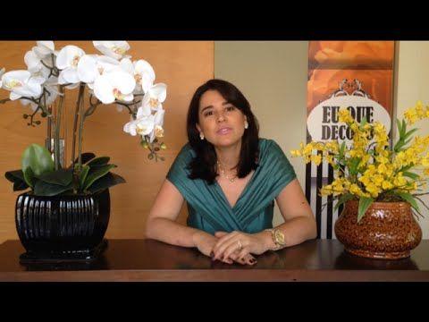 Eu Que Decoro | Como montar Arranjo de Orquídeas | Video Aula - YouTube