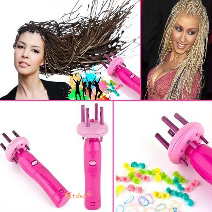 Hair Baider rollers styler curlers hair curling flexi rods wand weave braids braiding machine care accessories styling tools
