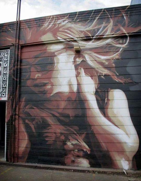 GUIDO VAN HELTEN http://www.widewalls.ch/artist/guido-van-helten/ #street #art