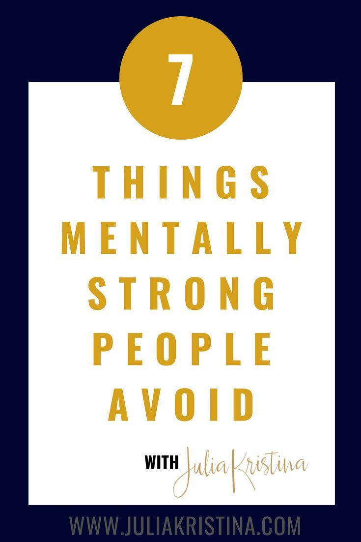 Good News About Mental Health In Our >> If You Ve Ever Thought Being Mentally Strong Is Something
