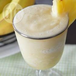 Banana and Fresh Pineapple Smoothie @ allrecipes.com.au