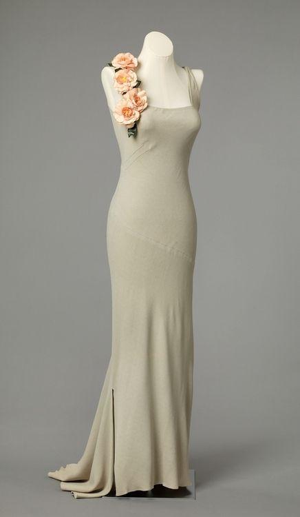 Evening Dress 1937 Nasjonalmuseet for Kunst, Arketektur, og Design
