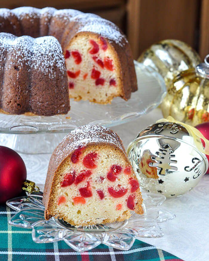 Newfoundland Cherry Cake