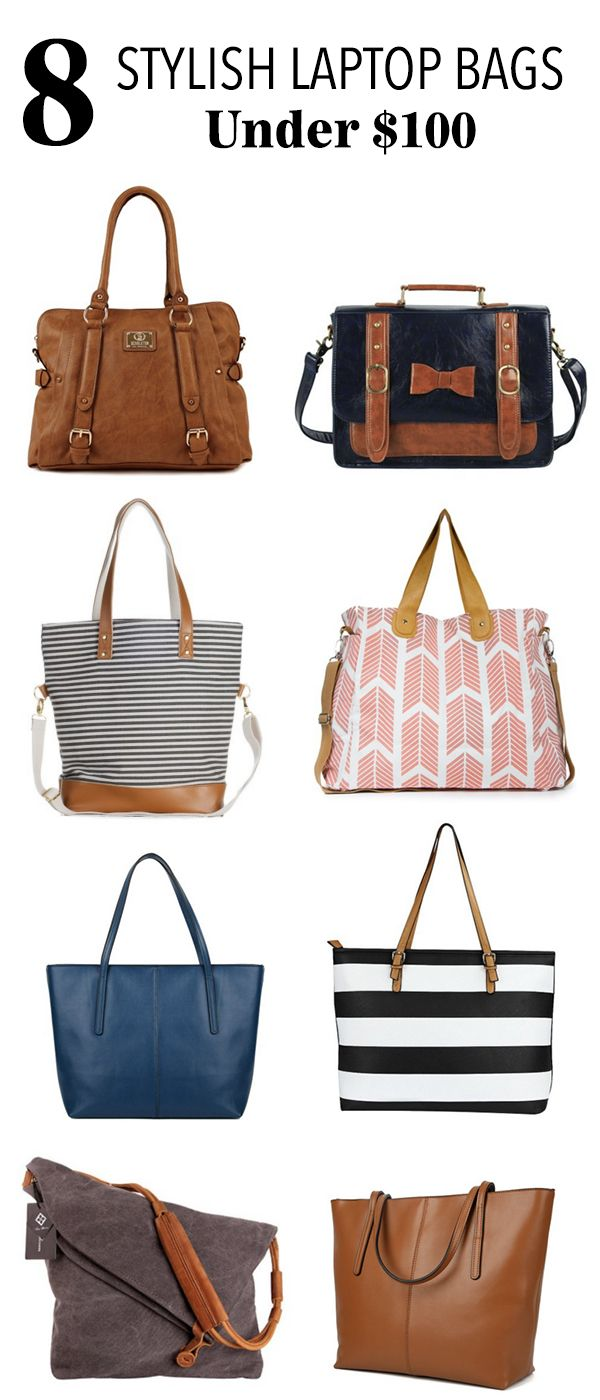 8 Stylish Laptop Bags Under  100 for the Working Mom   Best of Living for  Naptime   Laptop Bag, Bags, Purses a62acc73e4