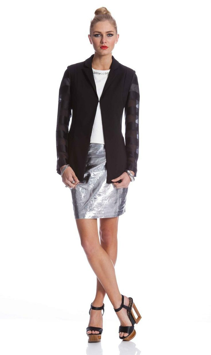 AlibiOnline - Twin Shadow Jacket by WHITNEY PORT for COOPER ST, $175.95 (http://www.alibionline.com.au/twin-shadow-jacket-by-whitney-port-for-cooper-st/)
