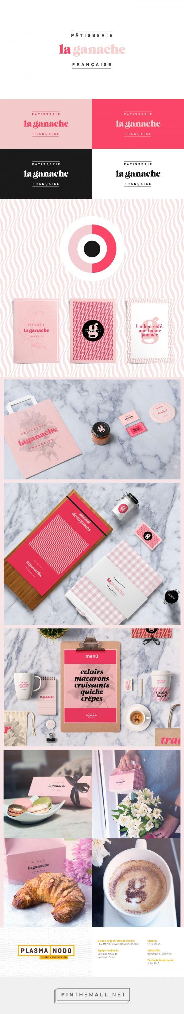 La Ganache Patisserie Branding by Plasma Nodo | Fivestar Branding Agency – Design and Branding Agency & Curated Inspiration Gallery