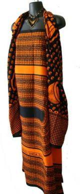 カンガの使い方・巻き方 アフリカ布カンガ、キテンゲを楽しもう! アフリカフェ@バラカ アフリカ製品輸入元 卸 販売 株式会社バラカ