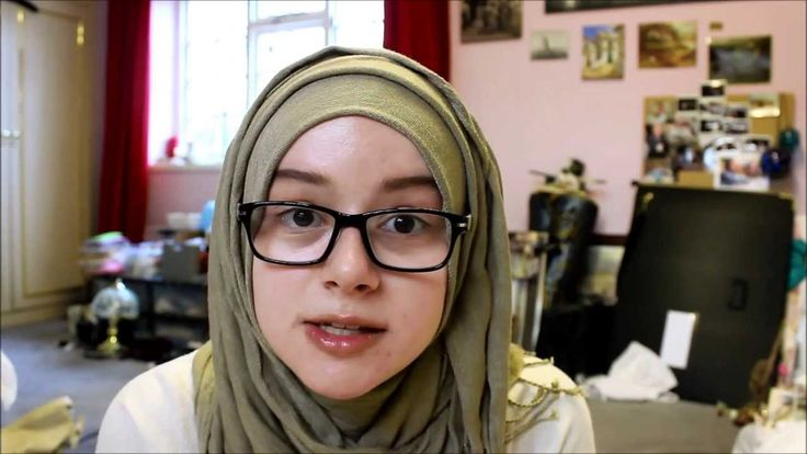 Simple Hijab tutorial - great for glasses :)