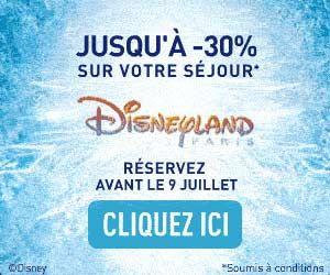 Disneyland Paris : jusqu'à -30% de réduction sur les séjours + séjour gratuit pour les enfants de moins de 7 ans
