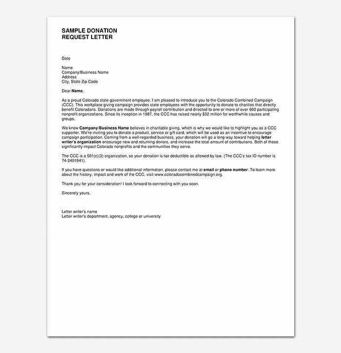 Sample Letters Asking For Donations Unique Donation Request Letter Template Messages Examples Donation Request Letters Donation Letter Donation Letter Template