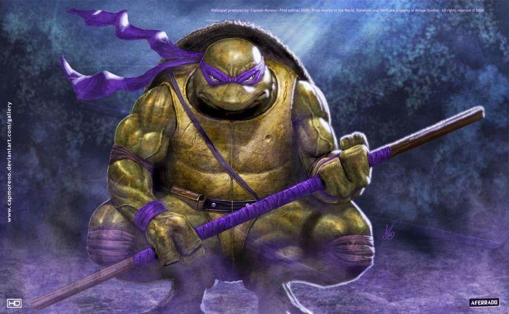 Teenage Mutant Ninja Turtles Donatello HD Wallpaper