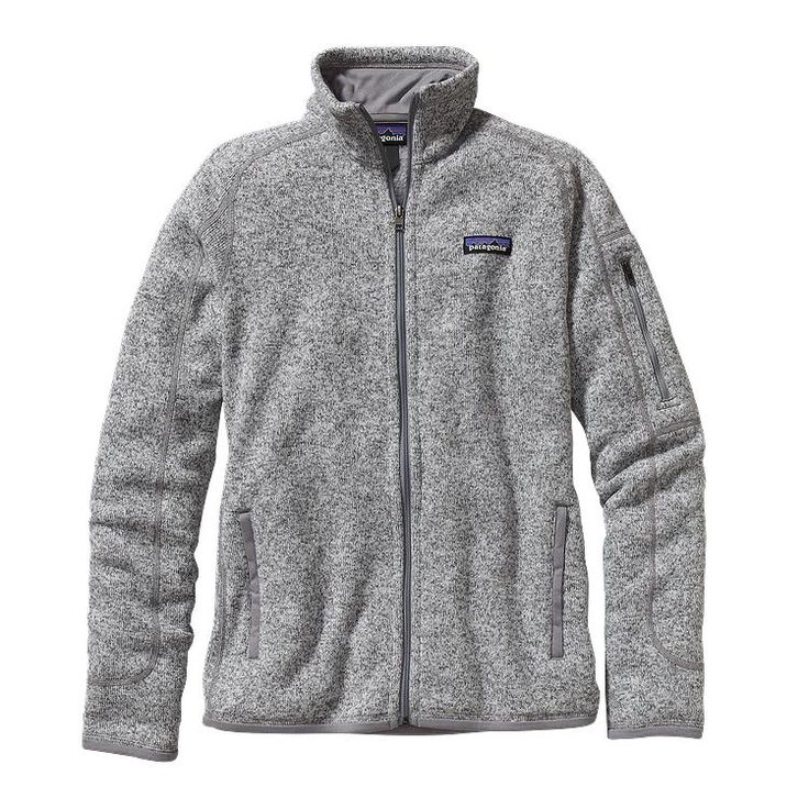 Size L: Patagonia Women\'s Better Sweater\u2122 Fleece Jacket - Birch White BCW