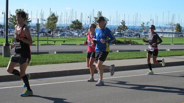 Oakville Half Marathon runners!