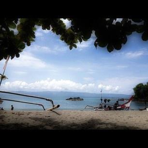 C u tomorrow Karangaji Beach, Pelabuhan Ratu, Indonesia