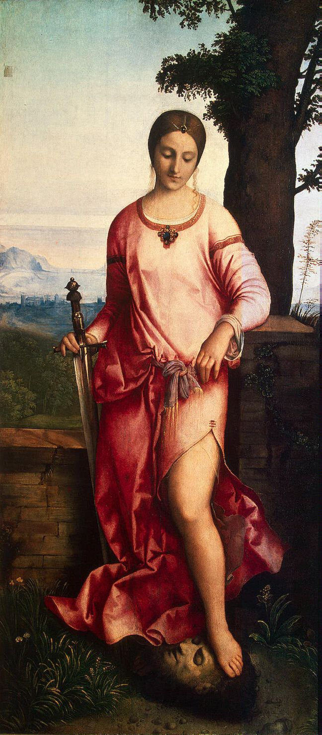 Giorgione, born Giorgio Barbarelli da Castelfranco; (Italian c. 1477/8–1510) [High Renaissance] Judith, 1504.