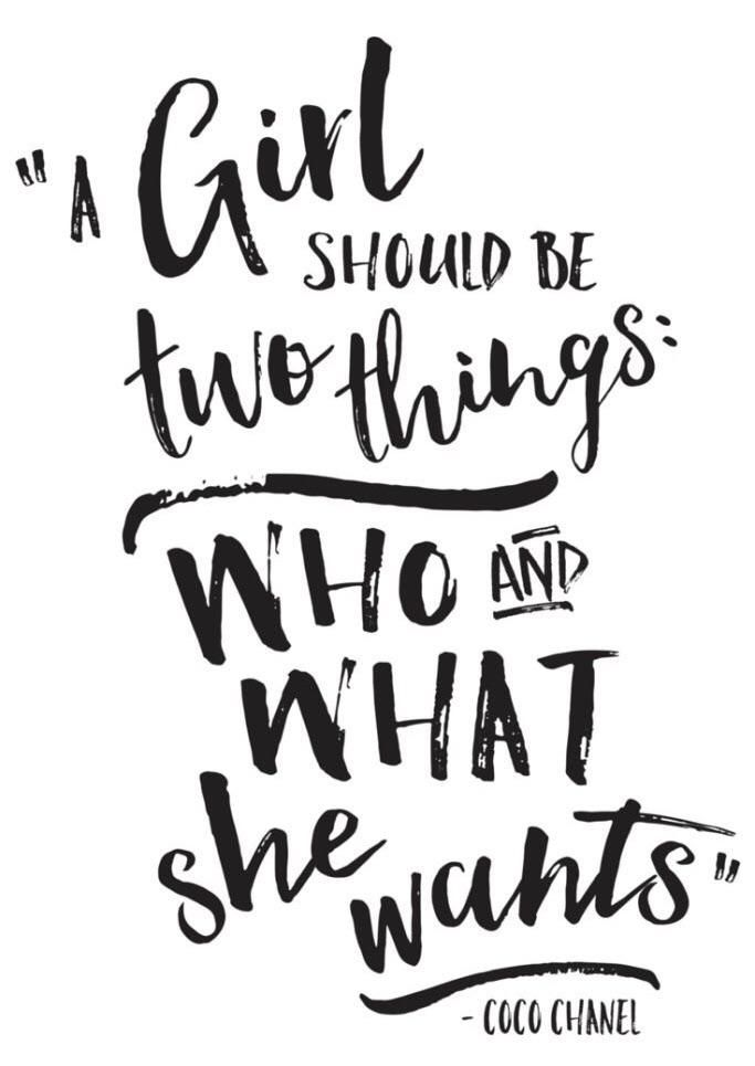 A Girl Should Be Two Things Who And What She Wants T Shirt