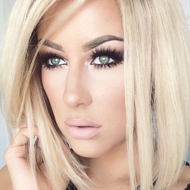Make up for blondes