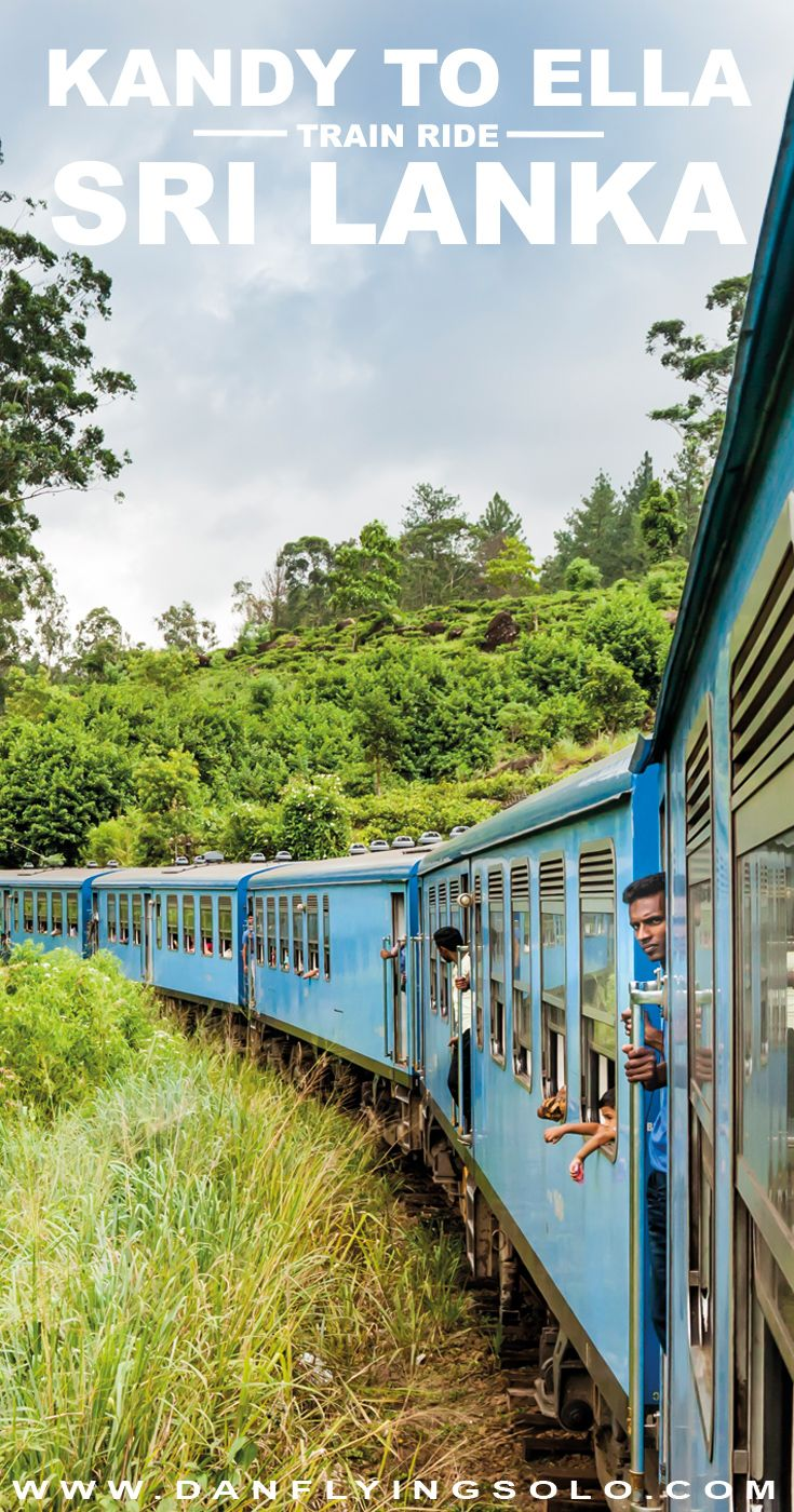 The Kandy to Ella train journey is often described as one of the worlds most scenic. Slow down and enjoy this slow ride through misty tea plantations.