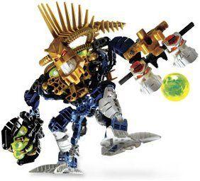 Lego Bionicle PIRAKA Figure Irnakk with Unique Gold Spine #8626, Boxed Set includes Vezok, Thok Reidak and comes with an exclusive Unique Gold Spine!, #Toys, #Building Sets