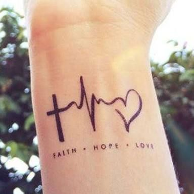 Image result for simple christian tattoos for women