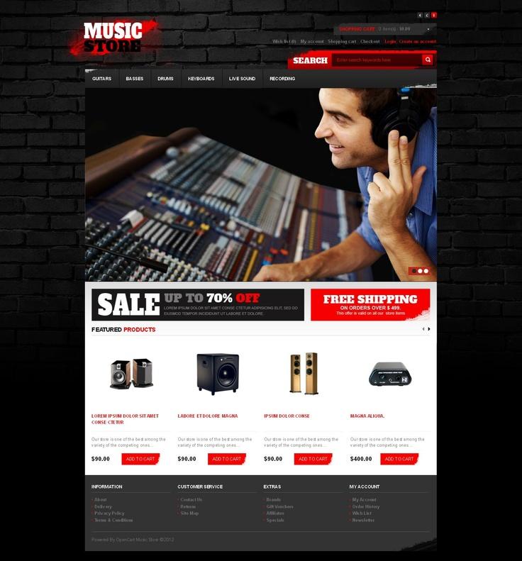 17 best ideas about music website templates on pinterest entertainment websites website. Black Bedroom Furniture Sets. Home Design Ideas