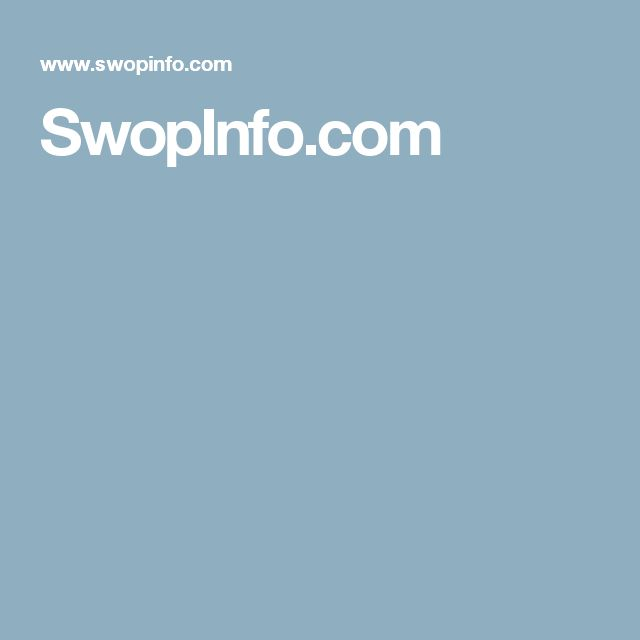 SwopInfo.com