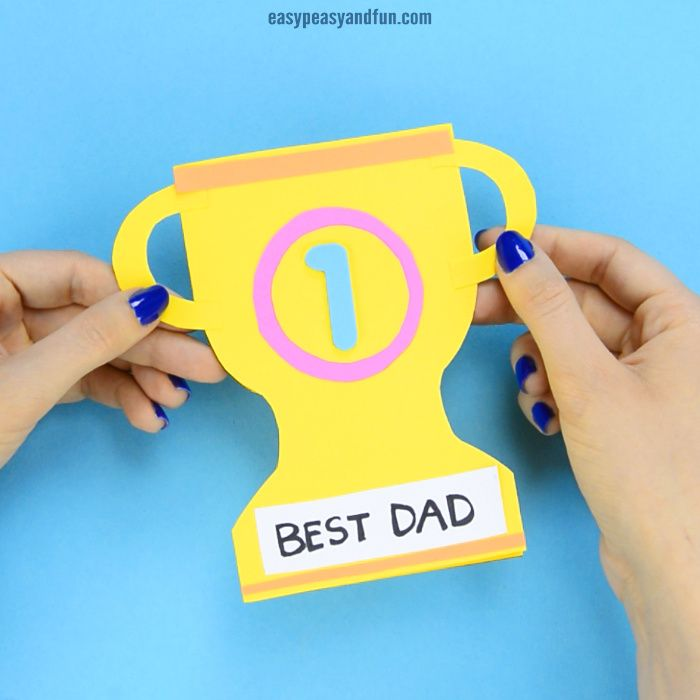 Fathers Day Crafts Cards Art And Craft Ideas For Kids To Make Dad Crafts Fathers Day Crafts Kids Fathers Day Crafts