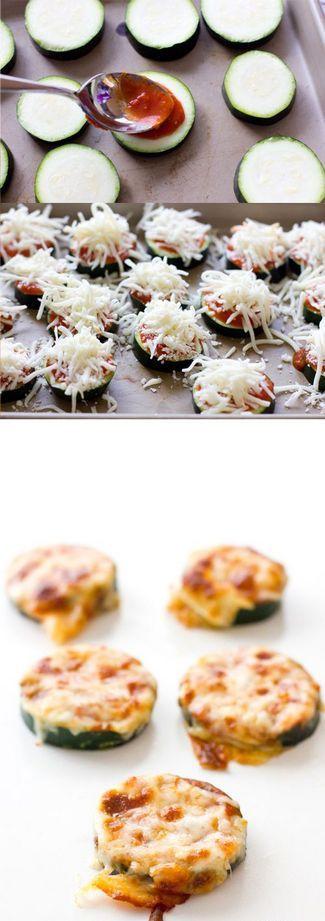 Pizza Zucchinis | Cookboum