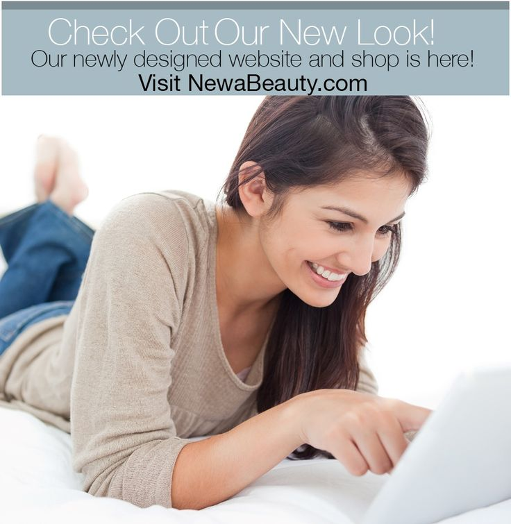 Exciting news - we are very pleased to announce the launch of our new website! We have given NewaBeauty.com a complete makeover, with a clean, fresh new look and an easy to use Shop Now feature. Check out NewaBeauty.com and learn how NEWA actually rebuilds collagen to tighten and lift your skin, see user review clips, read our clinical studies, and try out our Shop.