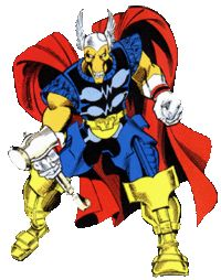 Thor was trying to stop what looked like an alien invasion of Earth. As it turned out, it was actually a race of aliens who had lost their world and had been kept in cryogenics until they found a new planet. The lead ship in their fleet would move them in various directions while its computer tried to find said new world for them.