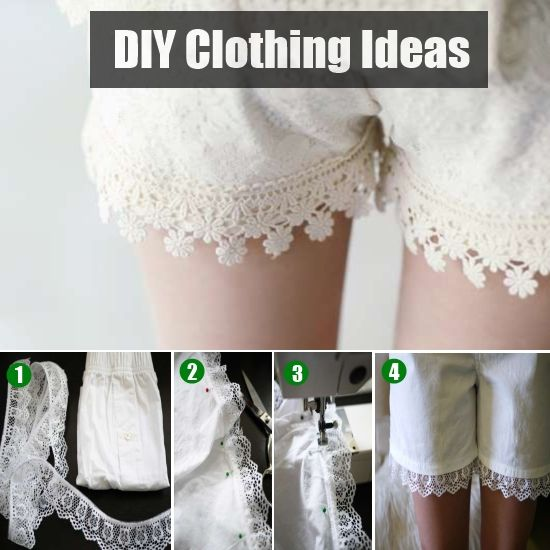 DIY Clothing ideas you simply cannot resist