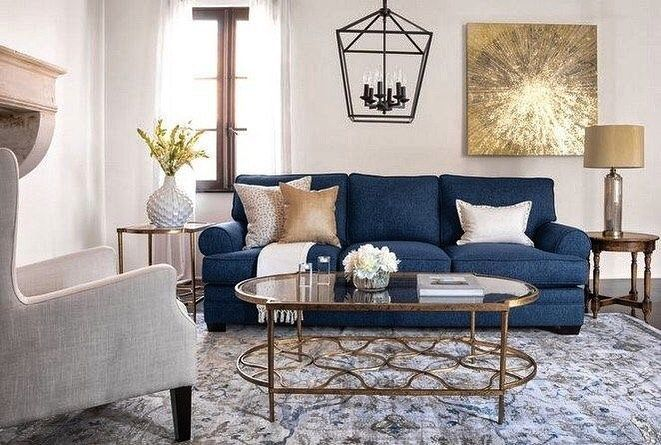 70 Awesome Minimalist Living Room Decor Ideas Blue Couch Living Room Blue Living Room Decor Blue Sofas Living Room