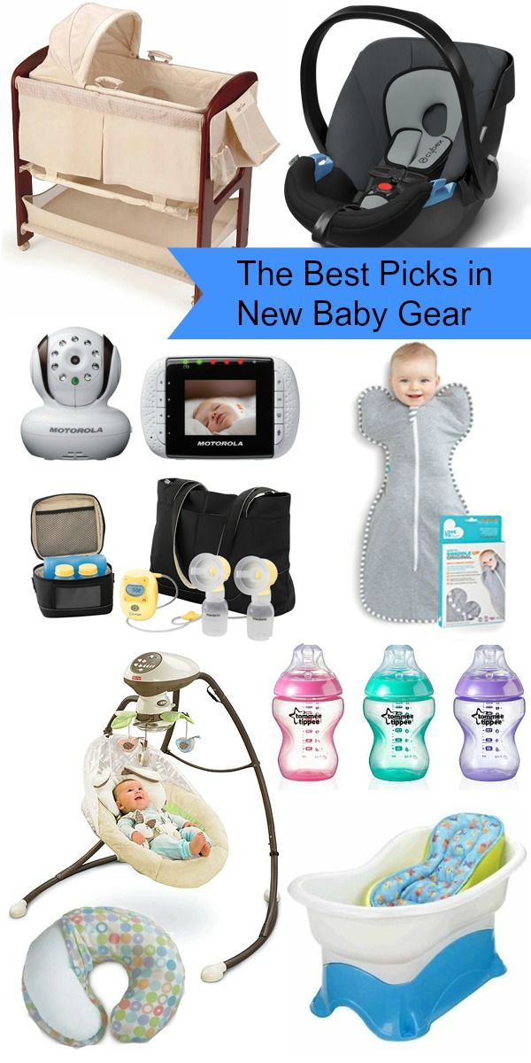 The best picks in new baby gear - from car seats to bottles, this post lists all the best newborn essentials.