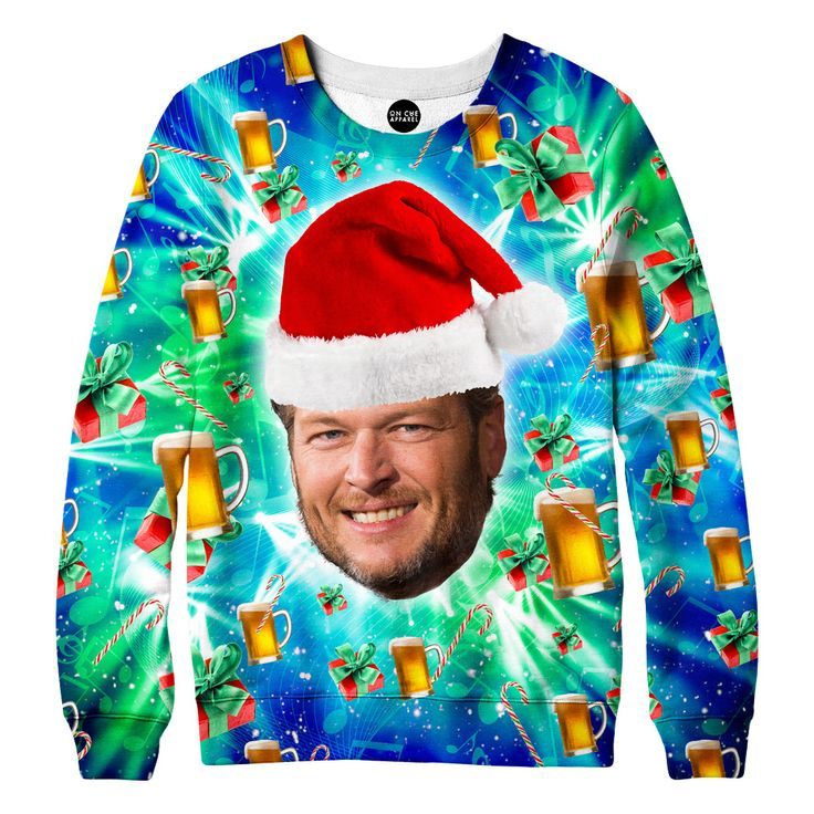 Our Blake Shelton Christmas sweatshirt is a Blake Shelton fans dream. Blake Shelton is a beautiful soul who is always in a jokingly good mood. We love Blake in the voice and think he is fabulous coach