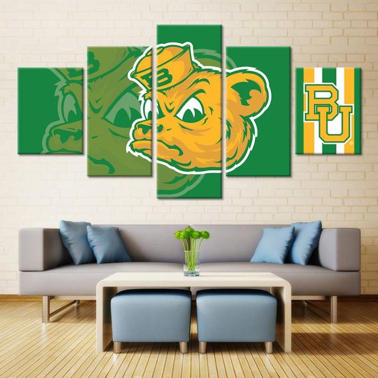 Baylor Bears Wall Art