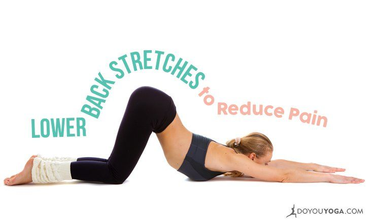 Do you experience lower back pain? Here are six wonderful lower back stretches to reduce pain, so you feel better, faster. Try them out for yourself!