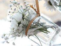 Selbstgemachte Blumendeko