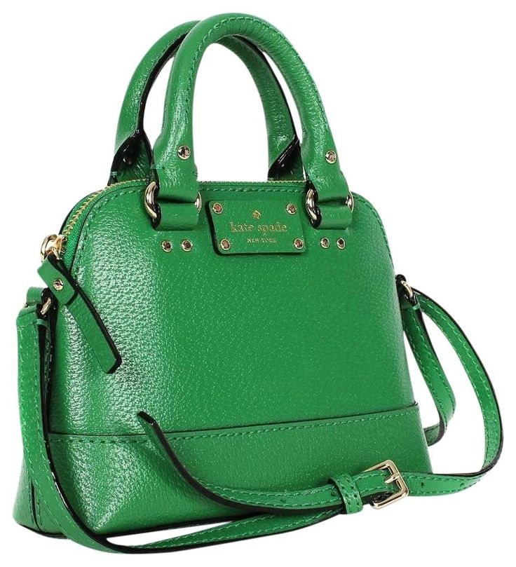 Kate Spade Wellesley Mini Rachelle In Sprout Green Cross Body Bag. Get the trendiest Cross Body Bag of the season! The Kate Spade Wellesley Mini Rachelle In Sprout Green Cross Body Bag is a top 10 member favorite on Tradesy. Save on yours before they are sold out!