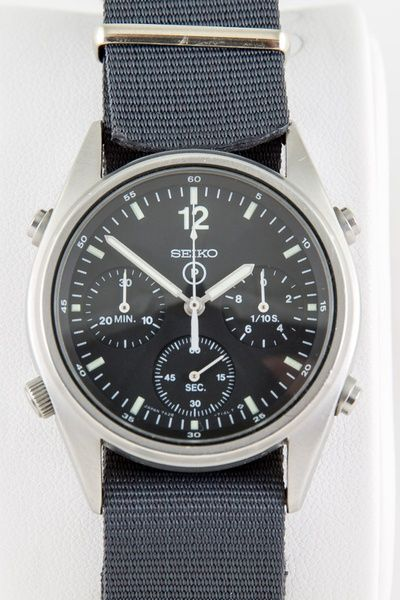 Seiko RAF military generation 1 issued watch. 0531/84. 1984.